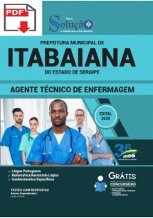 Concurso Prefeitura de Itabaiana SE 2020 tem EDITAL retificado! Até R$ 9.562,28!